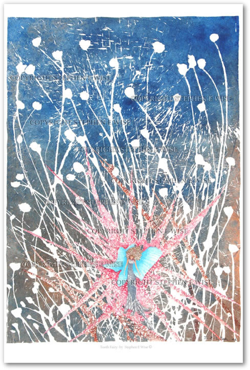 Buy Art Prints from leading Contemporary Artist Stephen E Wise - Artwork Title : Tooth Fairy